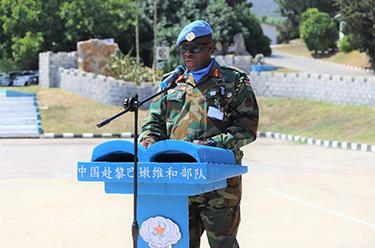 中國赴黎巴嫩維和部隊完成第18次輪換交接