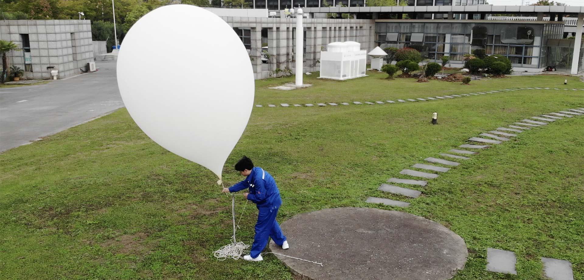 """走進我國第一家探空站,揭開""""放大氣球""""的奧秘"""