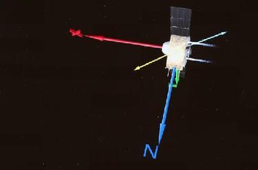 嫦娥五號探測器完成第一次月地轉移軌道修正