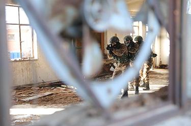 武警部隊全面開展冬季大練兵活動提高實戰化訓練水平