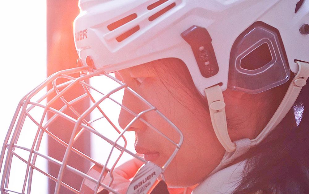 【顯影中國】冰球場上的14歲少女隊長