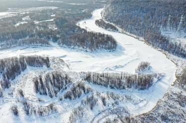 雪落大興安嶺