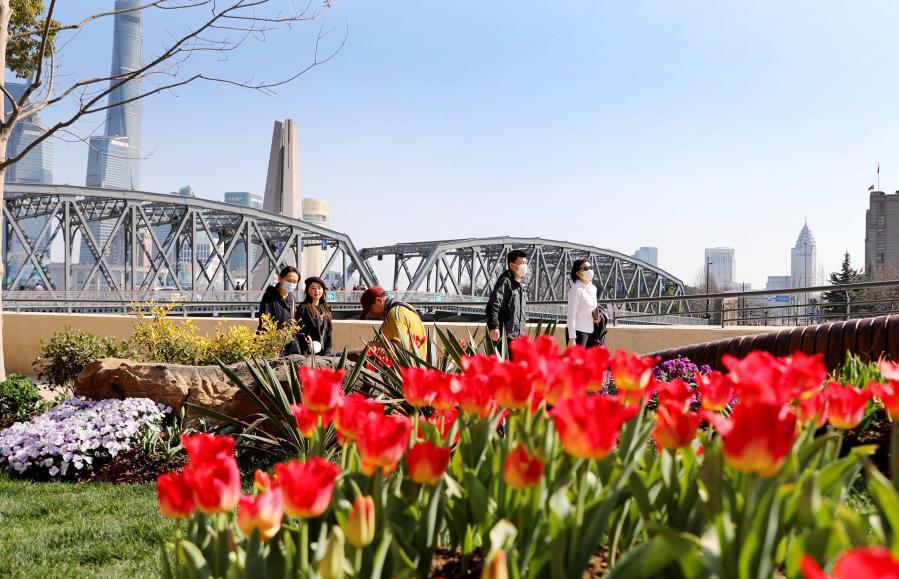 上海:蘇州河畔沐春光