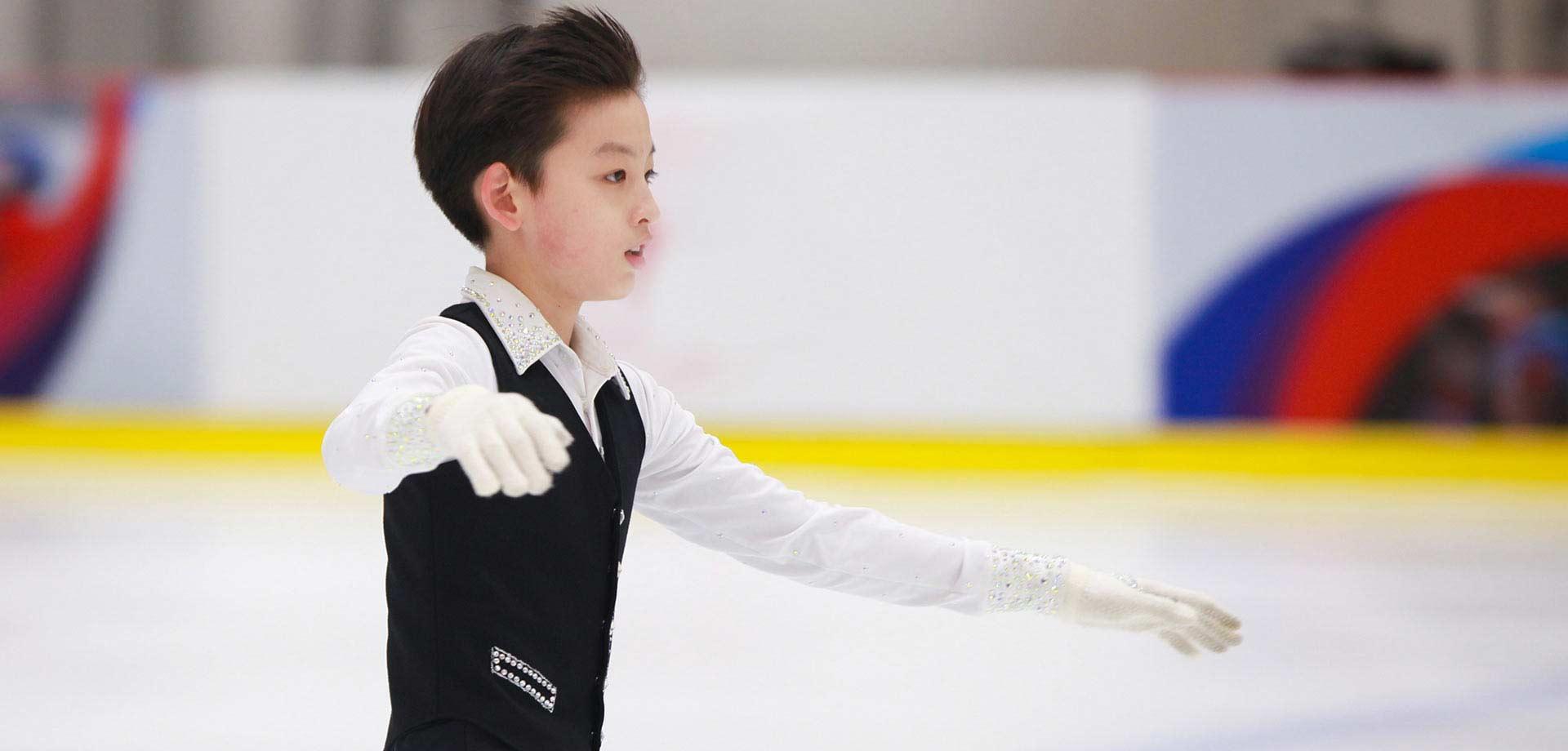 冬奧特刊:12歲的花滑國家一級運動員