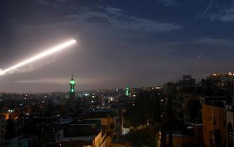 敘利亞軍方説以色列對敘發動導彈襲擊
