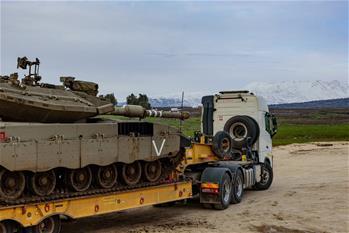 以色列成功攔截一枚向戈蘭高地北部發射的火箭彈