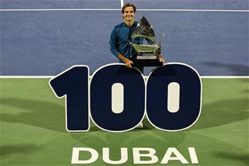 网球——迪拜赛:费德勒夺冠