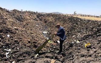 埃塞俄比亚载有157人的客机坠毁无人生还