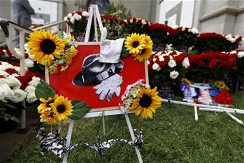 美國歌迷紀念邁克爾·傑克遜逝世十周年