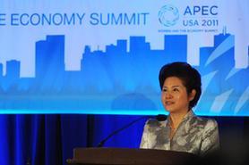 全國婦聯副主席孟曉駟出席亞太經合組織婦女與經濟峰會