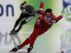速度滑冰世界杯首站:于靜獲500米冠軍
