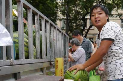 90后小伙北京早市卖瓜记 - 石灰熊 - 石灰熊的快乐馆