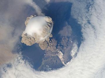 NASA公布全球火山噴發太空俯瞰圖
