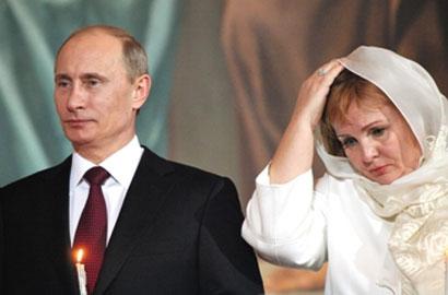 俄官方確認普京離婚 總統簡歷刪夫人內容