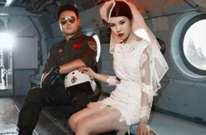 賞圖:超級酷炫的軍人婚禮大片