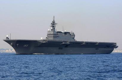日本最大軍艦出雲號準航母服役