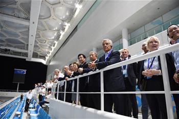 國際奧委會團隊在北京2022年冬奧會北京賽區考察