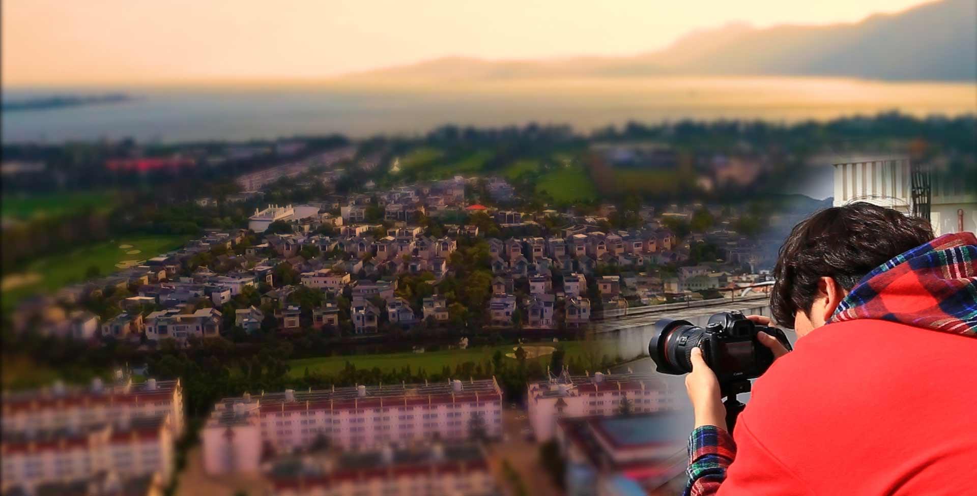 """小技巧模擬移軸鏡頭 帶你拍攝童話中的""""玩具城"""""""