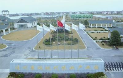 南通市通州区景瑞现代农业产业园全景.