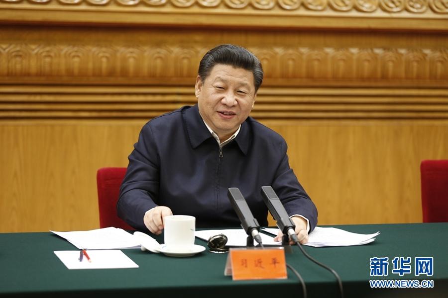 2月19日,中共中央总书记、国家主席、中央军委主席习近平在北京主持召开党的新闻舆论工作座谈会并发表重要讲话。 新华社记者 鞠鹏 摄