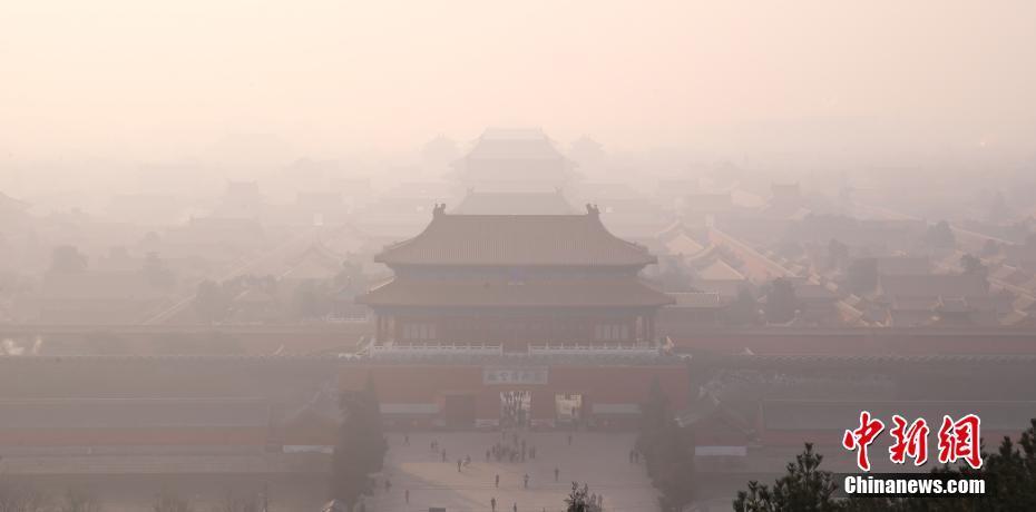 北京雾霾天气持续