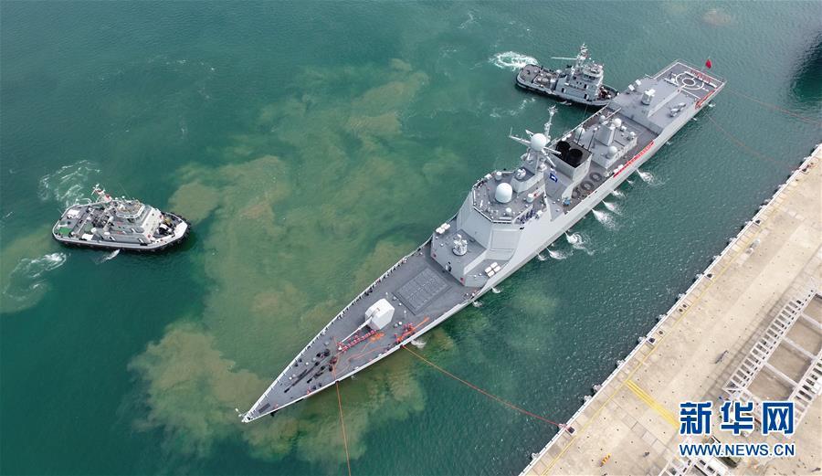 (圖文互動)(2)海軍南海艦隊遠海訓練編隊圓滿完成任務返回三亞