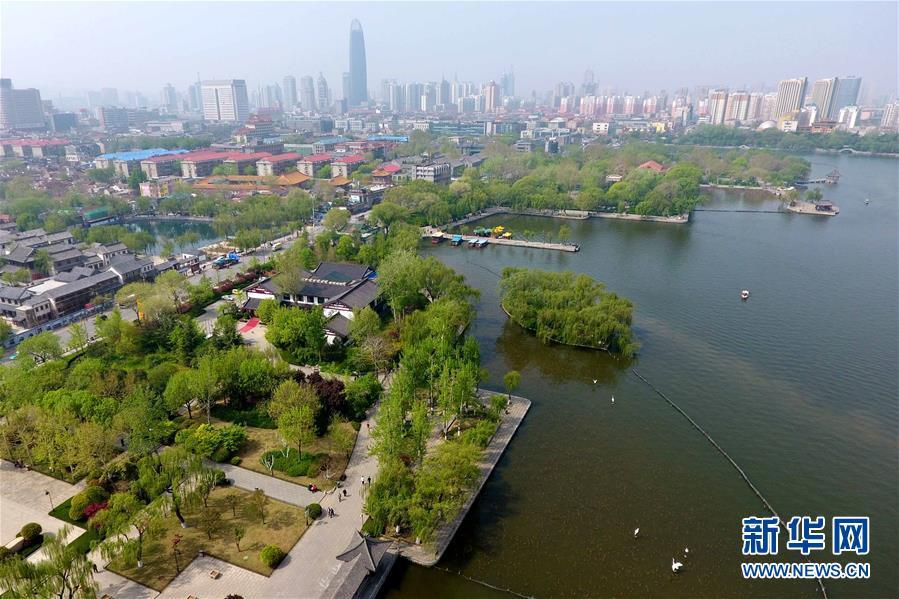 (空中之眼)(7)俯瞰濟南大明湖