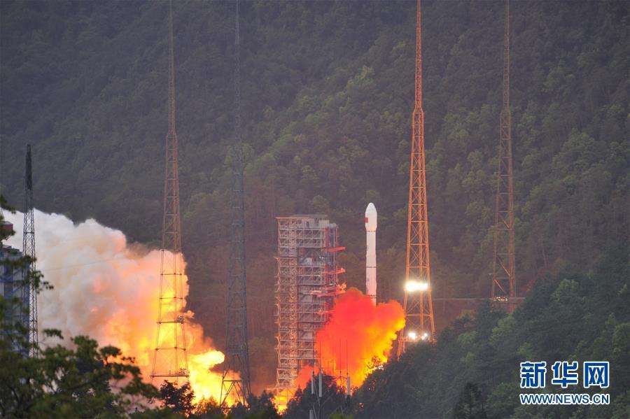(科技)(1)實踐十三號衛星成功發射 開啟中國通信衛星高通量時代