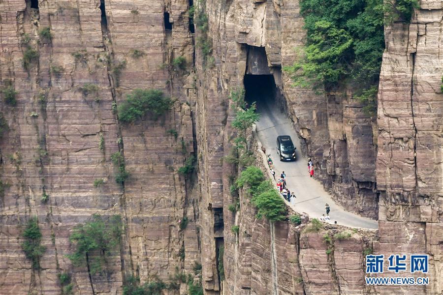 (社會)(11)郭亮村:絕壁公路建成四十年實現山村巨變