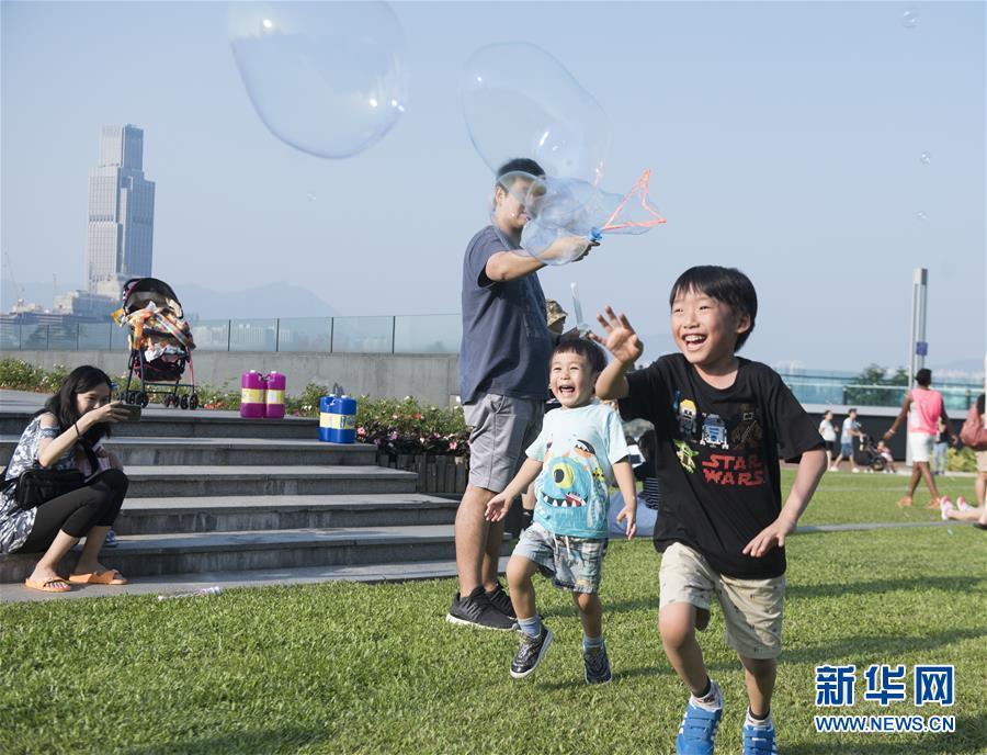 (香港回歸二十周年·新華視界)(10)香港:時尚之都的風採