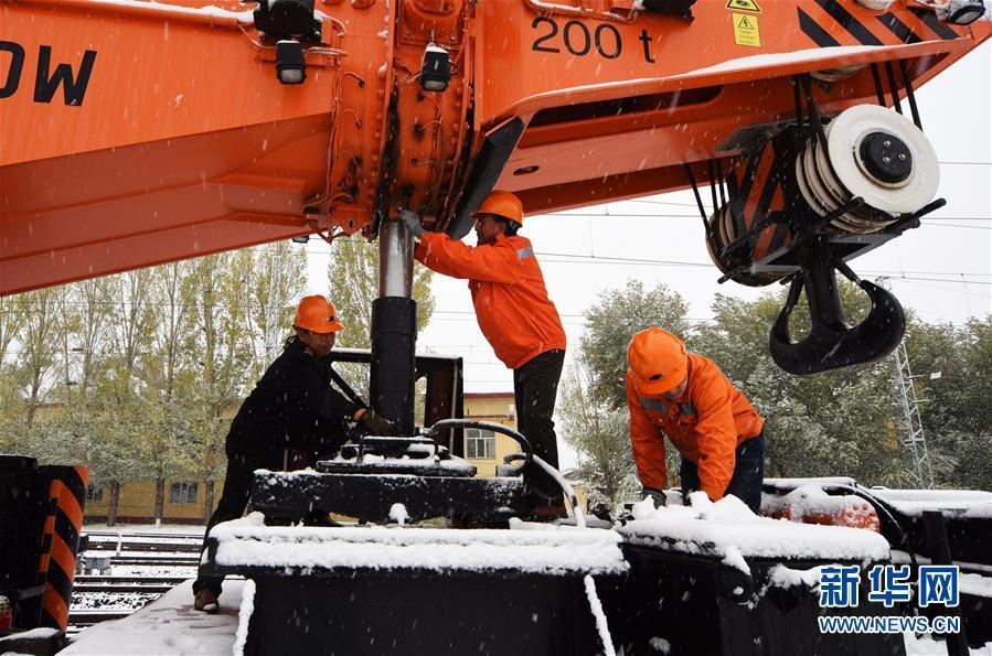 #(環境)(2)內蒙古甘肅等地出現降雪