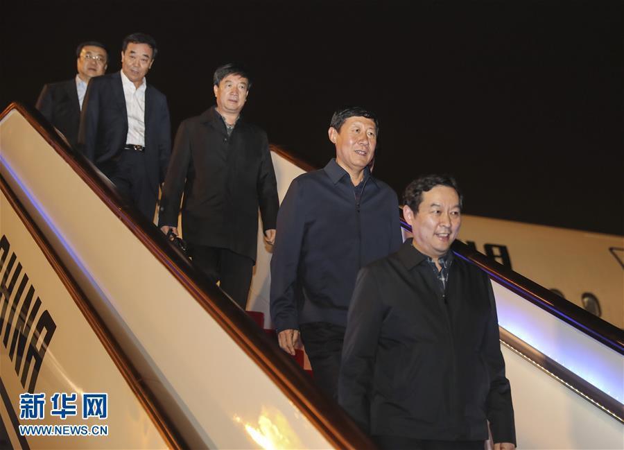 (十九大)出席十九大的寧夏代表團抵京