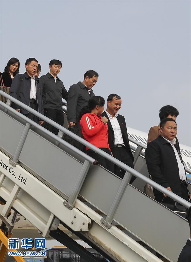 (十九大)出席十九大的貴州代表團抵京