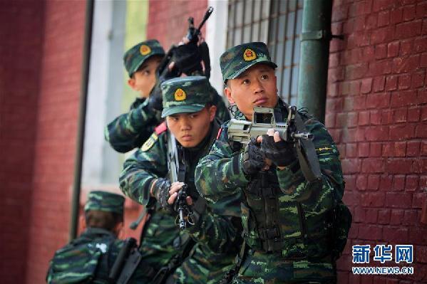 (十九大代表風採·圖文互動)(1)李玉峰:反恐鐵拳帶兵人