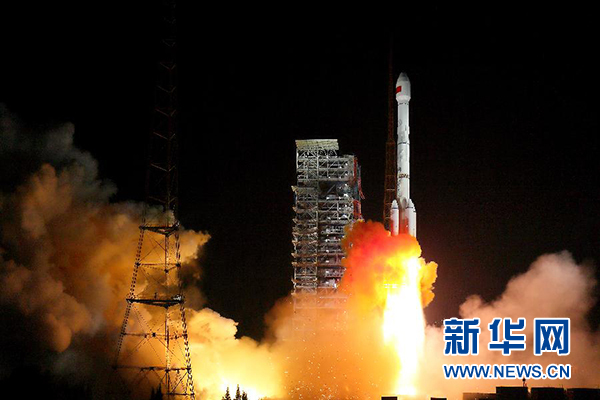 中国太空摆渡车 执行太阳同步轨道发射任务