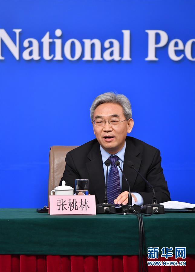 """(兩會)(7)農業部部長韓長賦等就""""推進農業供給側結構性改革""""答記者問"""