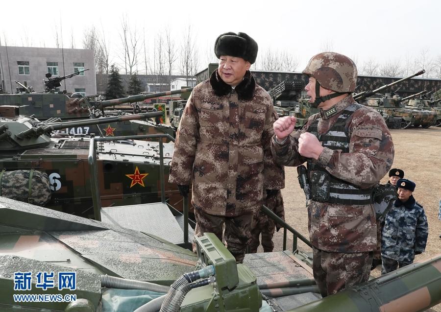 习近平:大抓实战化军事训练 聚力打造精锐作战力量