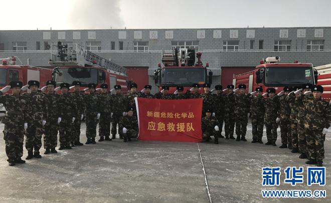 """戈壁滩上的应急救援队:守护新疆的燃料""""生命线"""""""