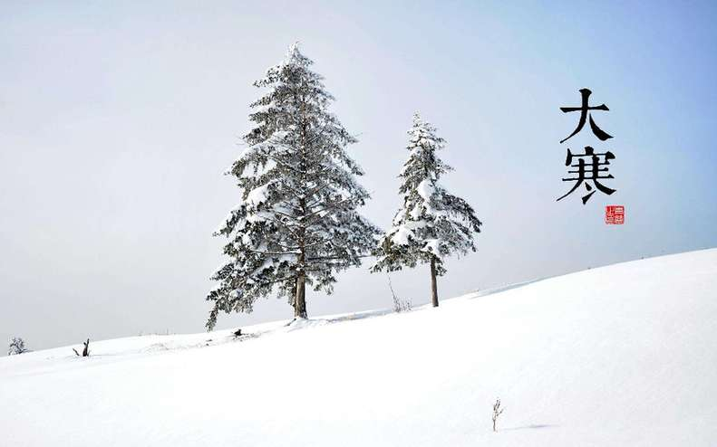 品读大寒 那些藏在古诗词中的寒寒之美