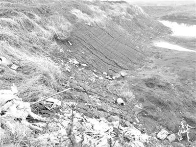 受伤的母亲河:3个月内万吨工业垃圾倾倒长江堤坝内