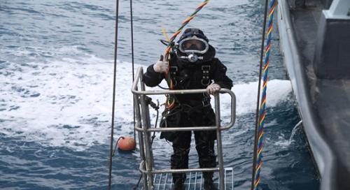 幸运飞艇开奖记录app:南海舰队救生训练见闻:如何救援一艘失事潜艇