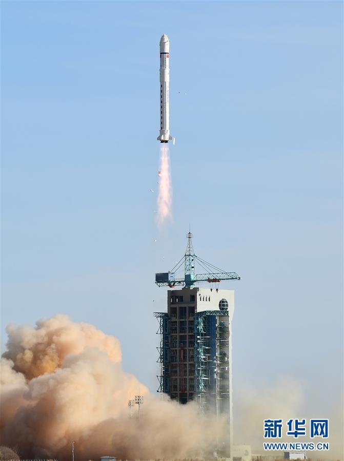 """(图文互动)(2)我国成功发射首颗电磁监测试验卫星""""张衡一号"""""""