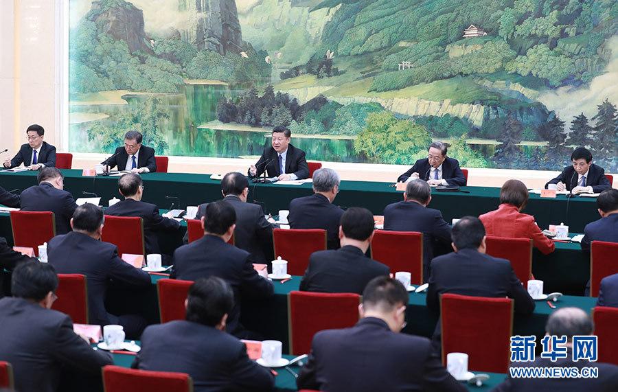 习近平:多党合作要有新气象 思想共识要有新提高