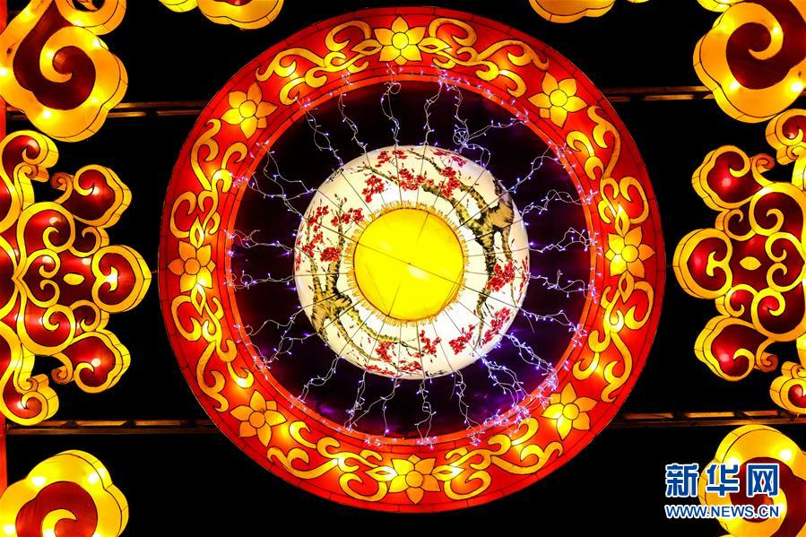 """(社会)(2)水乡乌镇点亮新春""""水灯会"""""""