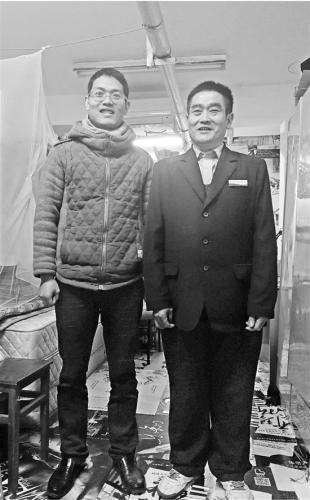 金沙娱乐官方:父亲浙大当宿管儿子浙大读博_每天一起吃午晚餐最幸福