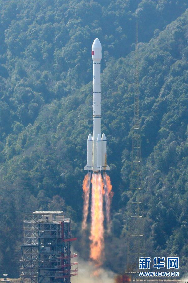 """(科技)(1)我国""""一箭双星""""成功发射两颗北斗三号全球组网卫星"""