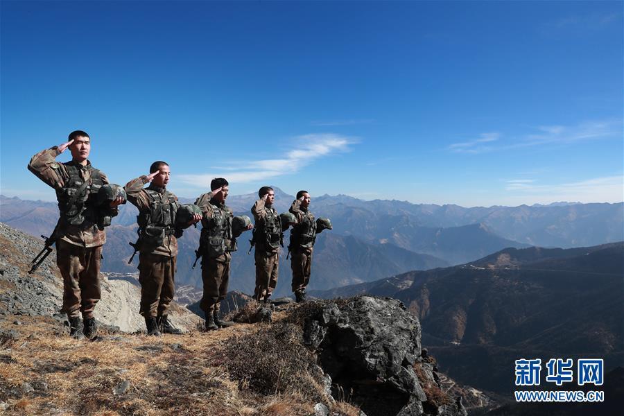 戍边官兵为祖国守岁:我站立的地方是中国!