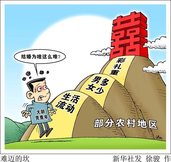 """千禧彩票急速赛车:""""一动不动""""""""万紫千红""""彩礼重_农村男青年结婚难"""