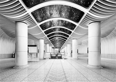 """幸运飞艇预测在线网页:北京8号线六营门站主体施工完成_抬头能望""""蓝色星空"""""""