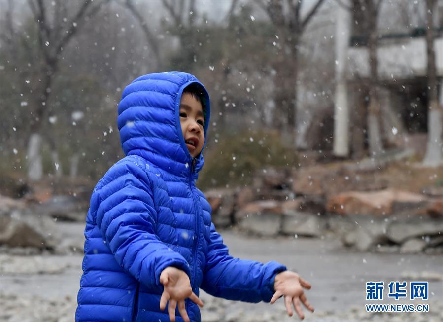 (環境)(1)北京迎來春雪